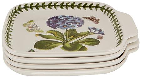 Portmeirion Botanic Garden Canape Dishes, Set of 4
