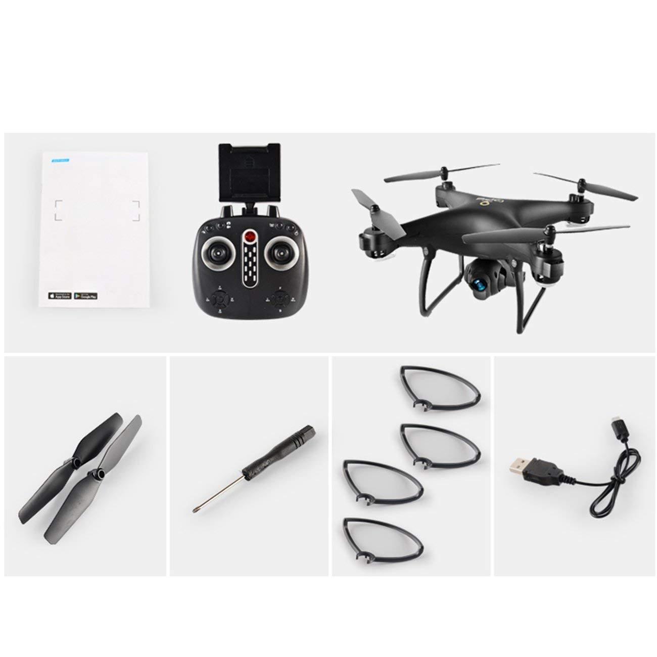 LH-X25WF Selfie 720P Grandangolo regolabile Telecamera FPV Pieghevole GPS RC Drone