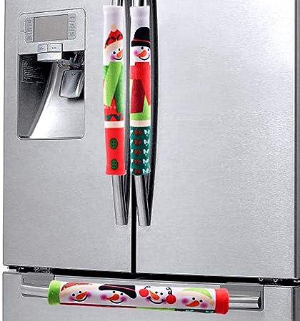 FEENM Juego de 3 Fundas para Manillar de Cocina, frigorífico ...