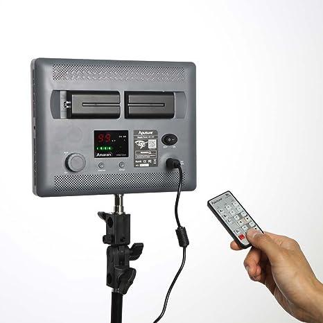 Aputure HR672 W Amaran luz de vídeo LED de alta CRI 95 +