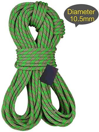 LAIABOR Cuerda Escalada Estática Cuerda Multifunción 9.5mm ...