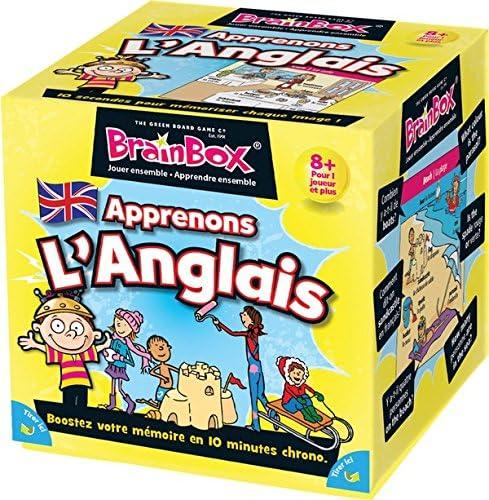 Green Board Games BrainBox English Niño Niño/niña - Juegos educativos (Caja): collectif: Amazon.es: Juguetes y juegos