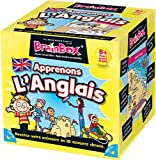 Asmodee BBENGLISH - Brainbox - Apprenons Anglais - Jeu d'Action et de Reflexe
