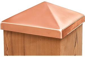 Amazon com: 6x6 Polished Copper Post Point: Home Improvement