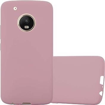 Cadorabo Funda para Motorola Moto G5 Plus en Candy Rosa: Amazon.es ...