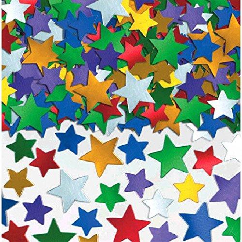 Multicolor Star Confetti | 5 oz. | Party Decor ()