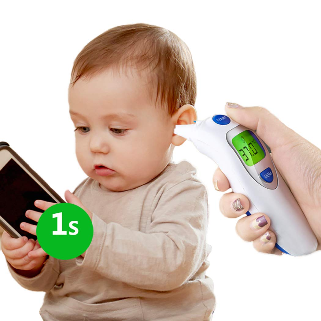 Zoylink Digital Thermometer Multifunctional Forehead Thermometer for Baby
