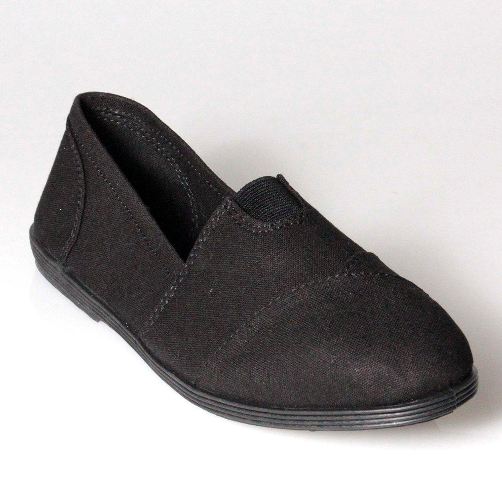 Soda Women Object Flats-Shoes, Black, 7.5