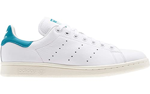 on feet images of competitive price 100% top quality adidas - Basket Femme Stan Smith W Ef9321 Blanc/Bleu: Amazon ...