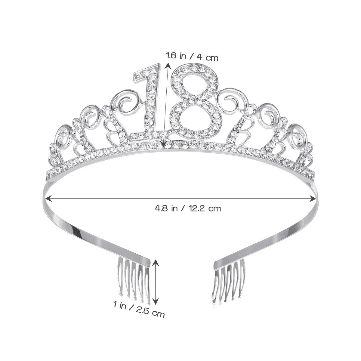 Diadema nupcial Corona de pelo Princesa corona Casco ...