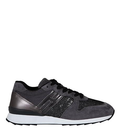 Hogan Sneakers R261 Donna Mod. HXW2610Y930 37½  Amazon.co.uk  Shoes   Bags 01ec4678c15
