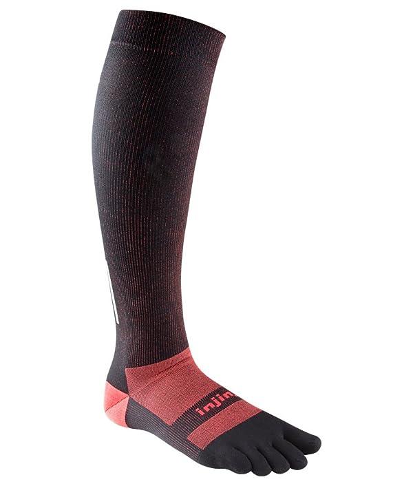 Injinji Ultra Compression OTC Sock (Medium, Black) (Color: Black, Tamaño: Medium)