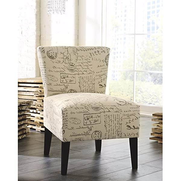 Ashley Furniture Signature Design - Ravity Accent Chair - Contemporary Style - Flared Back - Taupe