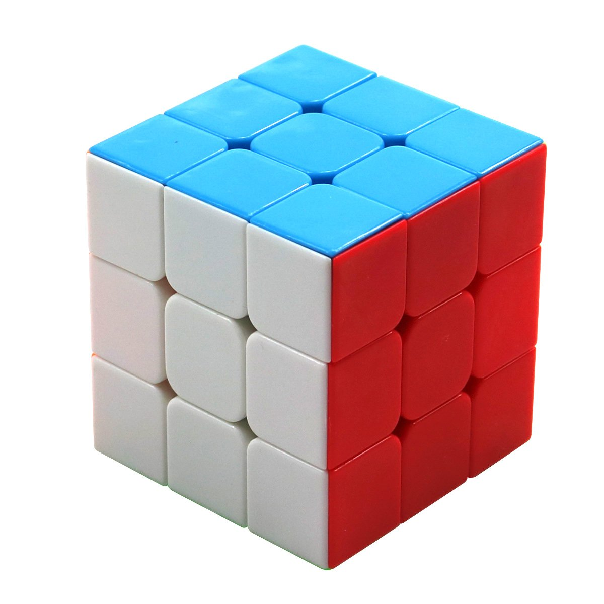 FC MXBB Magic Cube Speed Puzzle 3x3 Stickerless Cube Twist Brain Teasers Educational Toy 56mm
