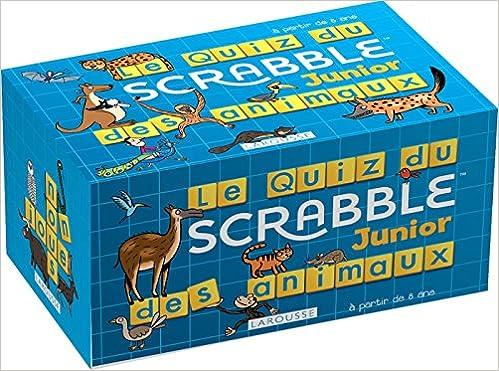 Le Quiz Scrabble Junior des animaux (Boîtes Quiz): Amazon.es: Meyer, Aurore: Libros en idiomas extranjeros