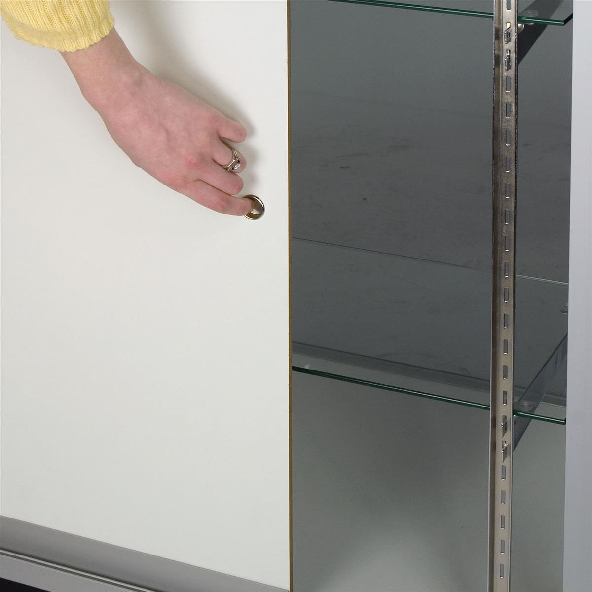Amazon.com: Free-Standing Glass Display Case, 70 x 38 x 20-Inch ...