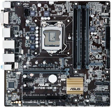 Q170M-CM-B//CSM PRO//C//SI // ASUS Asus Motherboard Q170M-CM-B CSM PRO C SI Q170 DDR4 PCIE SATA USB uATX Retail