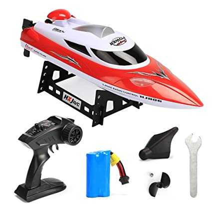 ZJL220 HJ806 RC Speed Boat 2.4GHz 4 Canal 35 km/h Racing