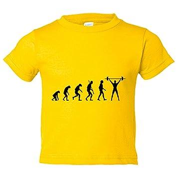 Camiseta niño Crossfit Evolution la evolución del Crossfit ...