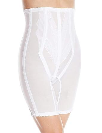 6c853f27bd176 Rago Women s Plus-Size Extra Firm Zippered High Waist Long Leg Shaper (XX)  at Amazon Women s Clothing store