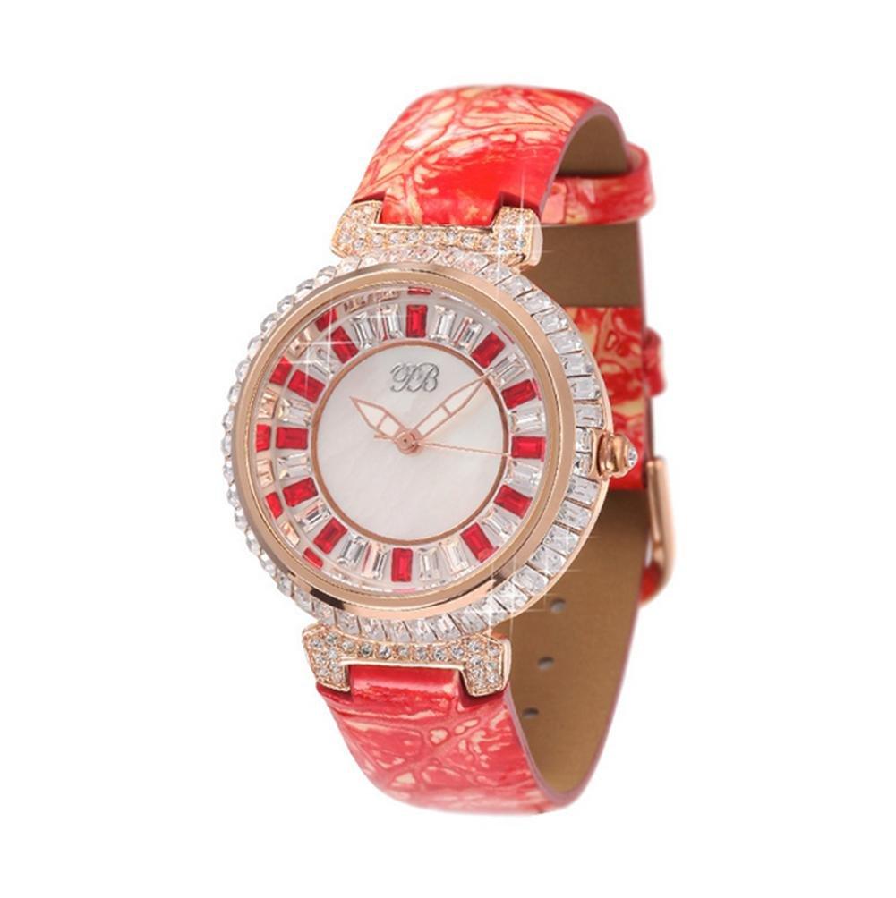 WP- Uhr Armbanduhr Mode-Damen-Diamant-Quarz-Uhr  - 4