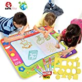 Doodle Mat Toddler Toys Large Aqua pad Magic Water Drawing Mat with 4 Doodle Pens Color for kids Learning Painting Best Educational Boys Girls Gift Size 31.5'' x 23.6''
