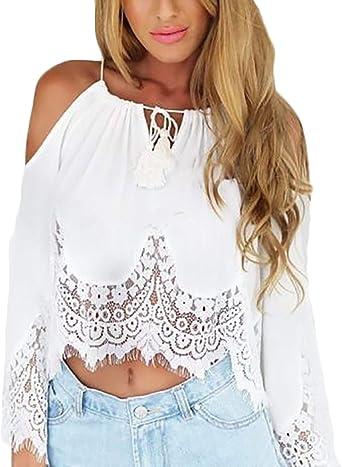 Imagenes de blusas de moda con encaje