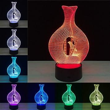 Decoración del Color del hogar jarrón Cambio de Color sueño ...