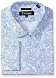 Stacy Adams Mens Big and Tall Paisley Classic Fit Dress Shirt