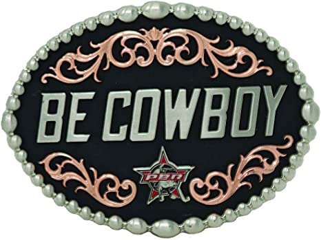 Montana Silversmiths Officially Licensed PBR Fanning the Flames Bull Skull Attitude Buckle NEW