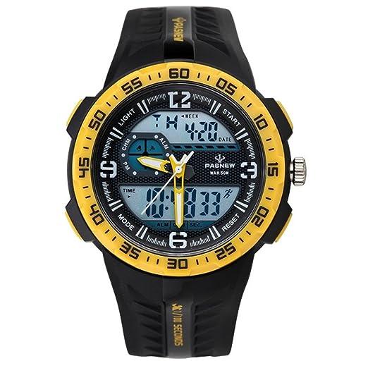 Reloj electrónico Deportivo Multi-natación Nocturna Impermeable Funcional-B