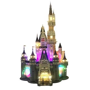 Poxl Led Light Set For Disney Castle Building Kit Models Led