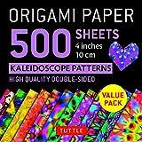 Origami Paper 500 sheets Kaleidoscope Patterns