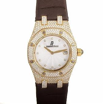 Audemars Piguet Royal Roble cuarzo mujer reloj 67605BA. ZZ. D080SU. 01 (Certificado) de segunda mano: Audemars Piguet: Amazon.es: Relojes