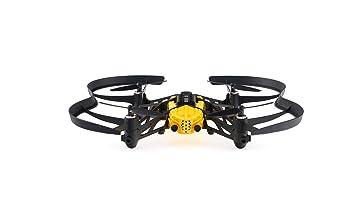Parrot - Minidrone Airbone Cargo Travis, color negro y amarillo ...