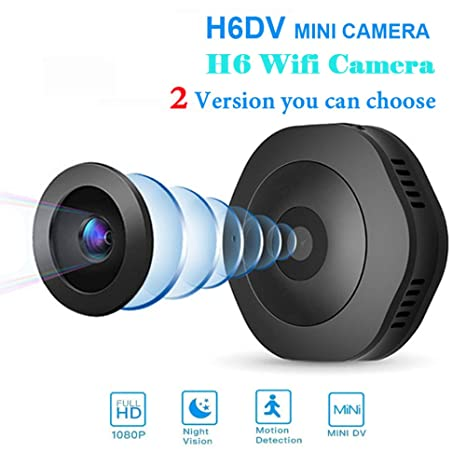 HUAWO V8 WiFi Mini Ocultos espía Wireless cámara IP 1080p HD cámara de vigilancia de Seguridad