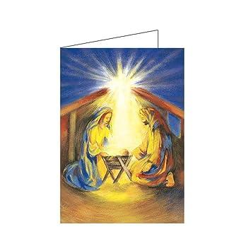 Christliche Weihnachtskarte Klappkarte A6 religiöse Motive - Wunder ...