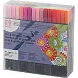 Kuretake ZIG Art & Graphic Twin marker 80 color set TUT-80 / 80V