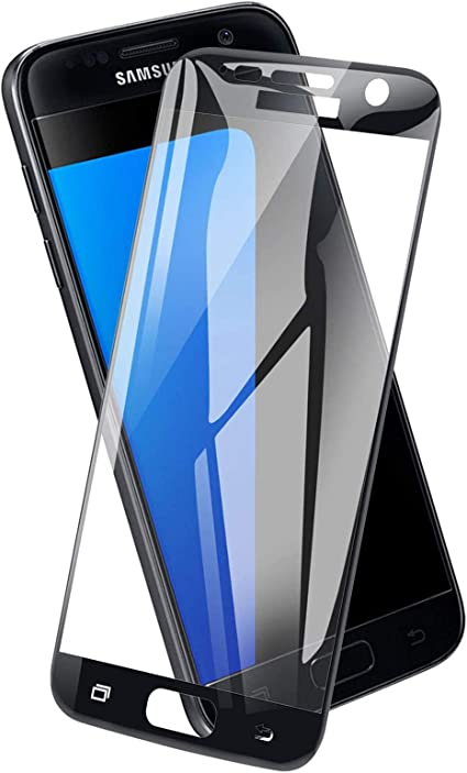 Icheckey Tempered Glass Screen Protector For Samsung Elektronik