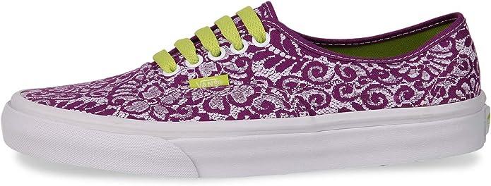 Vans Authentic Sneakers Damen Lila (Violett) mit Muster