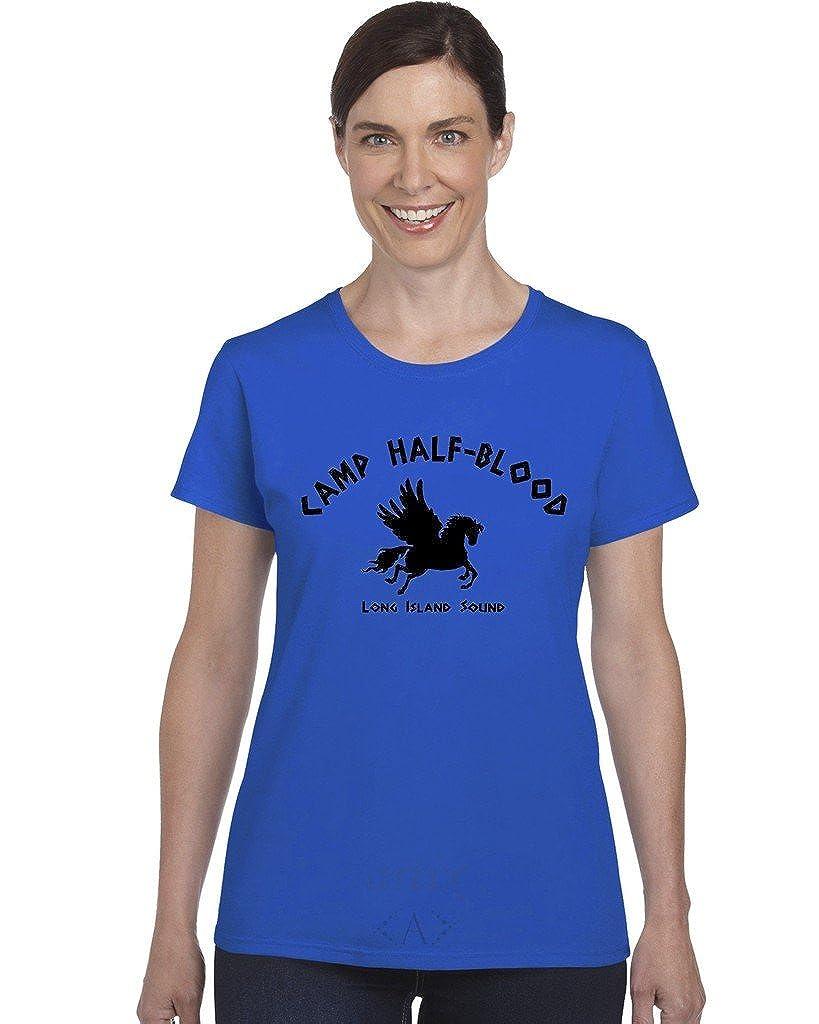 Artix A Camp Half Blood Women S Cool Demigods X Large Royal Blue Shirts