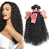 Curly Wave Virgin Hair Brazilian Human Hair Extensions Curly Weave Unprocessed Real Hair