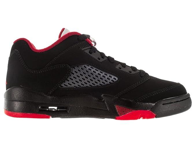 75dd274984f1 ... sale amazon nike air jordan 5 retro low gs boys grade schl sneakers  314338 001 basketball