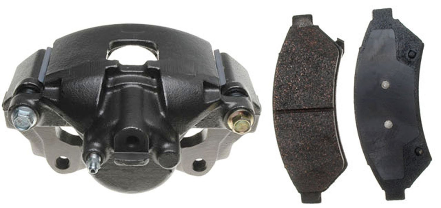 ACDelco 18R2322 Professional Front Driver Side Disc Brake Caliper Assembly with Pads (Loaded), Remanufactured