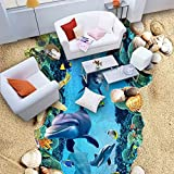ZLJTYN 270cmX180cm 3D wallpaper newest hot design drawing waterpro of The sea wallpaper 3d floor painting mural wallpaper