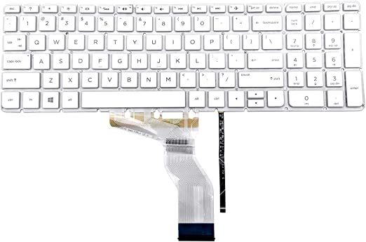 Keyboards4Laptops German Layout White Frame White Laptop Keyboard Compatible with HP Pavilion 15-e055st HP Pavilion 15-e056eb HP Pavilion 15-e055sx HP Pavilion 15-e056ee HP Pavilion 15-e055TX