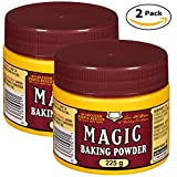 Magic Baking Powder 225 Grams, Pack of 2, Total 450 Grams