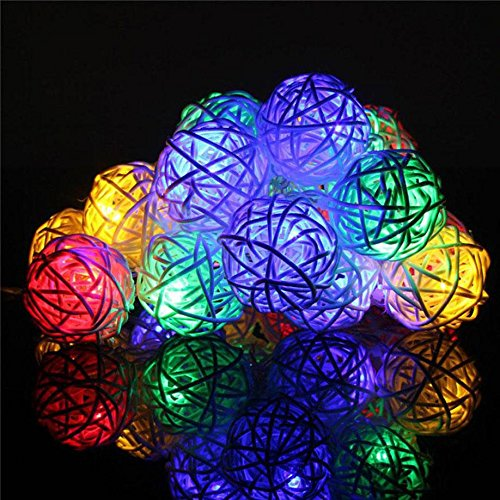 (Contemporay Home Deco Fairy Lamp Wedding Party Xmas Decor -)