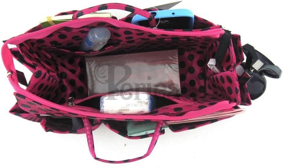 Lexy Periea Organizador de Bolsos Bosillo para Cartera 13 Compartimentos 3 Colores