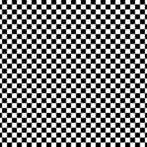Siser EasyPatterns Heat Transfer Vinyl HTV for T-Shirts 18 by 12 Inches (Checkerboard Black and White)